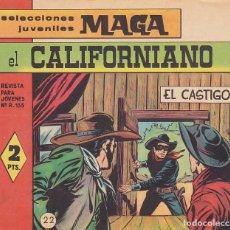 BDs: COMIC COLECCION EL CALIFORNIANO Nº 22. Lote 171389414