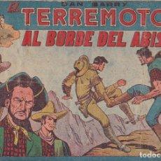 Tebeos: COMIC COLECCION DAN BARRY EL TERREMOTO Nº 2. Lote 171399540
