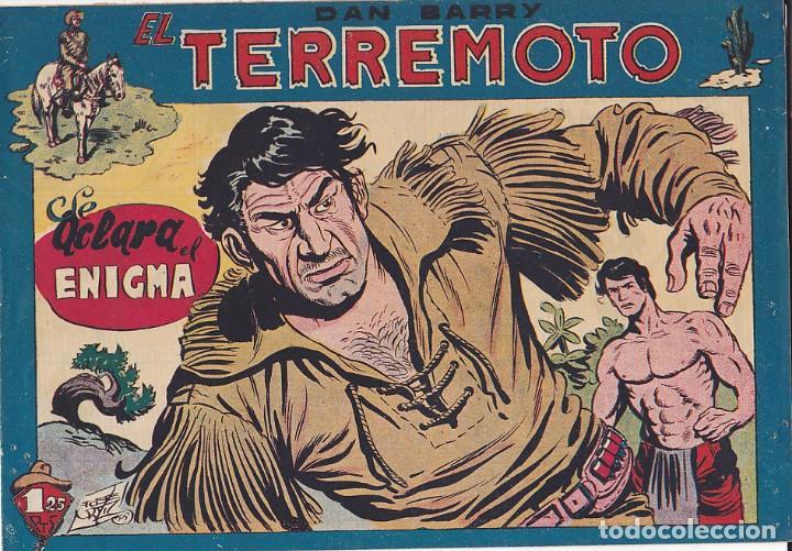 COMIC COLECCION DAN BARRY EL TERREMOTO Nº 37 (Tebeos y Comics - Maga - Dan Barry)
