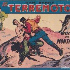 Tebeos: COMIC COLECCION DAN BARRY EL TERREMOTO Nº 38. Lote 171399805