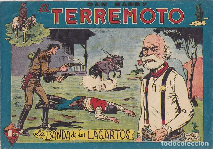 COMIC COLECCION DAN BARRY EL TERREMOTO Nº 55 (Tebeos y Comics - Maga - Dan Barry)