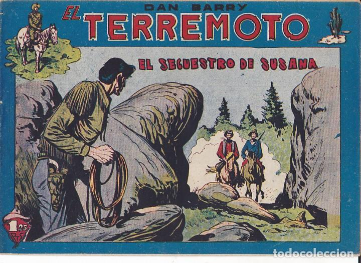 COMIC COLECCION DAN BARRY EL TERREMOTO Nº 64 (Tebeos y Comics - Maga - Dan Barry)