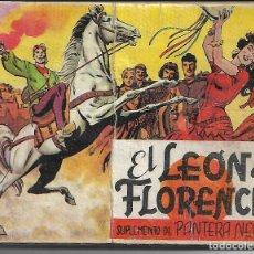 Tebeos: EL LEON DE FLORENCIA - ORGINAL - COMPLETA. Lote 171517655