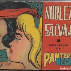 Tebeos: NOBLEZA SALVAJE - ORIGINAL - COMPLETA. Lote 171517827