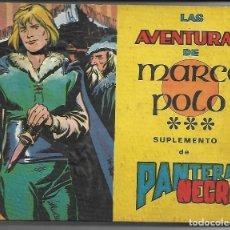 Tebeos: LAS AVENTURAS DE MARCO POLO - ORIGINAL - COMPLETA. Lote 171518155