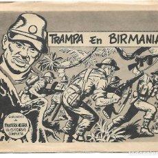 Tebeos: TRAMPA EN BIRMANIA - ORIGINAL . Lote 171518375