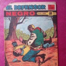 Giornalini: EL DEFENSOR NEGRO 61 ULTIMO SIN ABRIR EXCELENTE MAGA C42. Lote 197632343