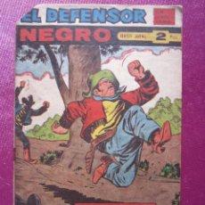 Tebeos: EL DEFENSOR NEGRO 58 SIN ABRIR EXCELENTE MAGA. C42. Lote 197632135