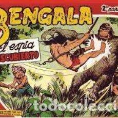 Livros de Banda Desenhada: BENGALA II 2 ª PARTE COLECCION COMPLETA FACSIMIL 54 EJEMPLARES EDITORIAL MAGA . Lote 172084304