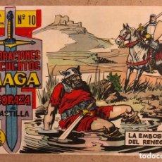 Tebeos: NARRACIONES Y CUENTOS MAGA N° 10 (EDITORIAL MAGA 1964). CORAZA DE CASTILLA. LA CORAZA DEL RENEGADO.. Lote 172431539