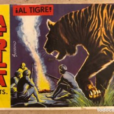 Tebeos: SERIE ATLETAS - ÁFRICA N° 12 (EDITORIAL MAGA 1964). ¡AL TIGRE!. Lote 172431625