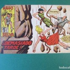 Tebeos: RAYO DE LA SELVA (1960, MAGA) 31 · 16-I-1961 · DEMASIADO TARDE. Lote 172654505