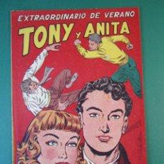 Tebeos: TONY Y ANITA (1952, MAGA) EXTRA 1 · VII-1953 · EXTRAORDINARIO DE VERANO *** EXCELENTE ****. Lote 172656987
