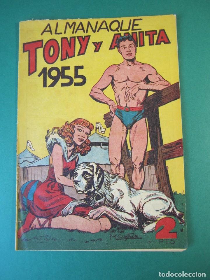 TONY Y ANITA (1952, MAGA) EXTRA 3 · XII-1954 · ALMANAQUE 1955 (Tebeos y Comics - Maga - Tony y Anita)