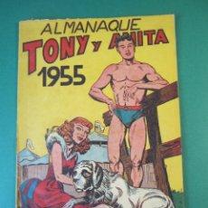 Tebeos: TONY Y ANITA (1952, MAGA) EXTRA 3 · XII-1954 · ALMANAQUE 1955. Lote 172657079