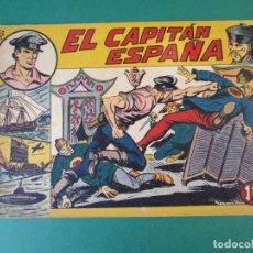 Tebeos: CAPITAN ESPAÑA, EL (1955, MAGA) 1 · 13-IV-1955 · EL CAPITAN ESPAÑA. Lote 172657429