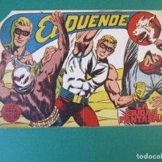 Tebeos: DUENDE, EL (1961, MAGA) 17 · 17-V-1961 · LA CIUDAD FANTASMA. Lote 172663705