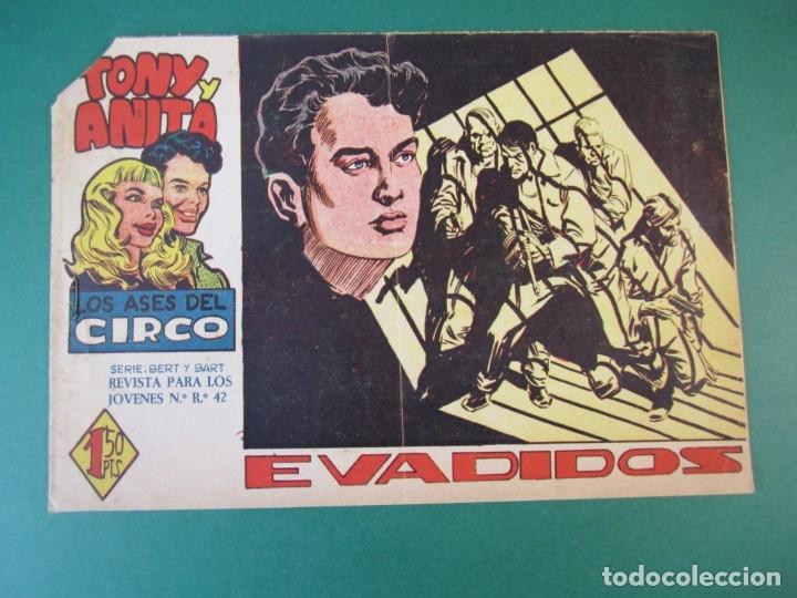 TONY Y ANITA (1960, MAGA) 25 · 28-XII-1960 · EVADIDOS (Tebeos y Comics - Maga - Tony y Anita)
