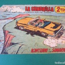 Tebeos: CUADRILLA, LA (1961, MAGA) 3 · 23-VIII-1961 · EL AVANTILADO DE LAS SOMBRAS. Lote 172725100