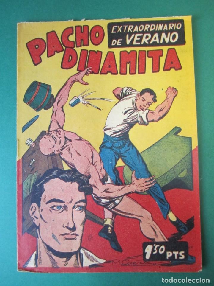 PACHO DINAMITA (1951, MAGA) EXTRA 1 · VII-1954 · EXTRAORDINARIO DE VERANO (Tebeos y Comics - Maga - Pacho Dinamita)