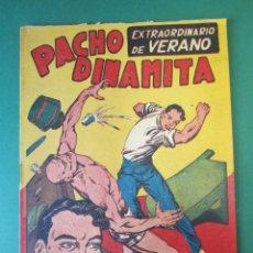 Tebeos: PACHO DINAMITA (1951, MAGA) EXTRA 1 · VII-1954 · EXTRAORDINARIO DE VERANO. Lote 172727204