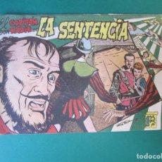 Tebeos: CAPITAN DON NADIE, EL (1952, MAGA) 3 · 14-V-1952 · LA SENTENCIA. Lote 172727713