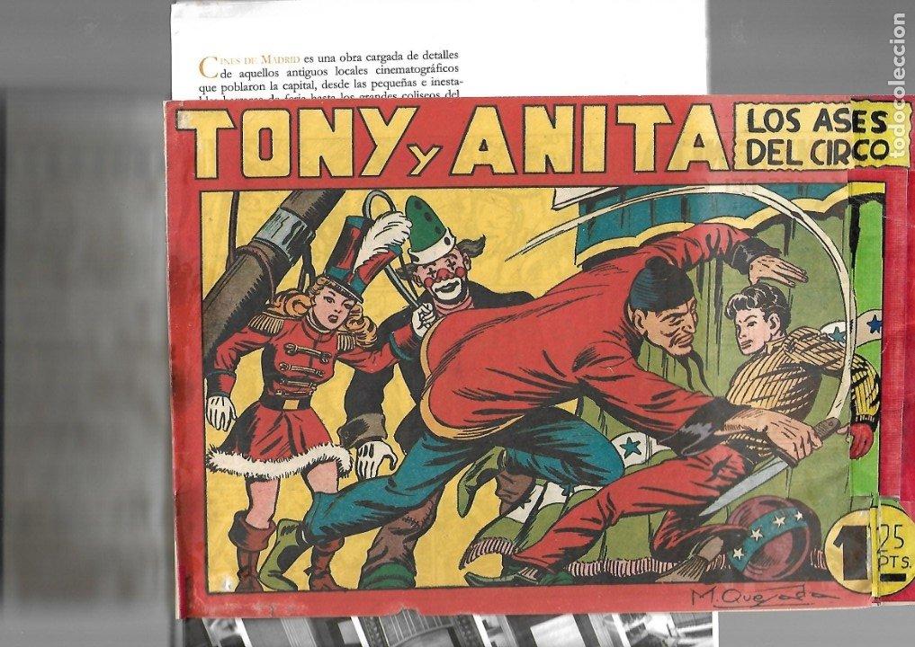 TONY Y ANITA, Nº 1 ES ORIGINAL DEL AÑO 1951. DIBUJANTE M. QUESADA EDITORIAL MAGA. (Tebeos y Comics - Maga - Tony y Anita)