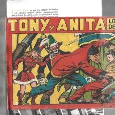Tebeos: TONY Y ANITA, Nº 1 ES ORIGINAL DEL AÑO 1951. DIBUJANTE M. QUESADA EDITORIAL MAGA.. Lote 173042572