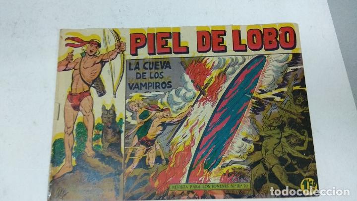 Tebeos: COLECCION COMPLETA 90 COMICS TBO PIEL DE LOBO ED MAGA AÑOS 50s ORIGINALES - Foto 2 - 173087324