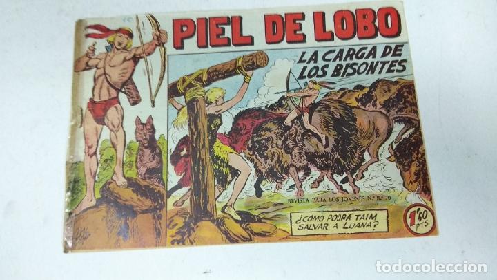 Tebeos: COLECCION COMPLETA 90 COMICS TBO PIEL DE LOBO ED MAGA AÑOS 50s ORIGINALES - Foto 3 - 173087324