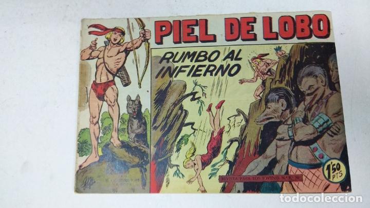 Tebeos: COLECCION COMPLETA 90 COMICS TBO PIEL DE LOBO ED MAGA AÑOS 50s ORIGINALES - Foto 4 - 173087324