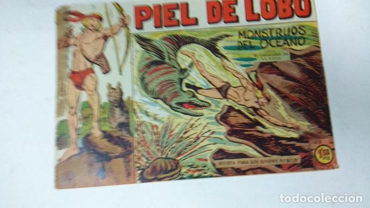 Tebeos: COLECCION COMPLETA 90 COMICS TBO PIEL DE LOBO ED MAGA AÑOS 50s ORIGINALES - Foto 5 - 173087324