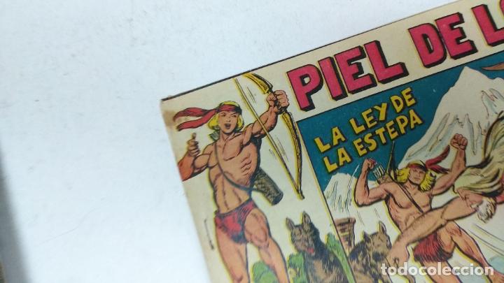 Tebeos: COLECCION COMPLETA 90 COMICS TBO PIEL DE LOBO ED MAGA AÑOS 50s ORIGINALES - Foto 7 - 173087324