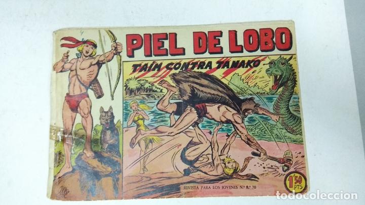 Tebeos: COLECCION COMPLETA 90 COMICS TBO PIEL DE LOBO ED MAGA AÑOS 50s ORIGINALES - Foto 8 - 173087324
