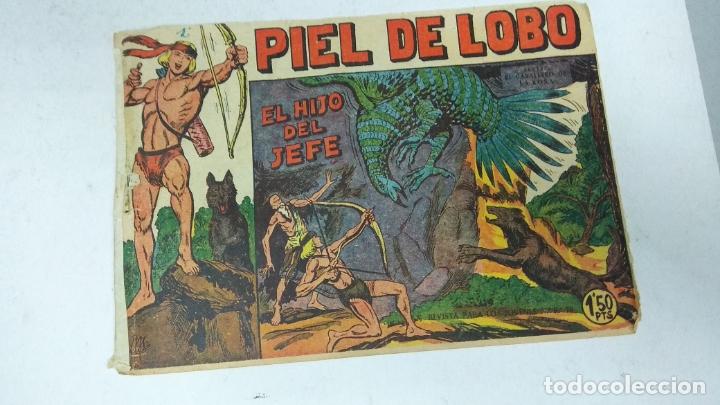 Tebeos: COLECCION COMPLETA 90 COMICS TBO PIEL DE LOBO ED MAGA AÑOS 50s ORIGINALES - Foto 9 - 173087324