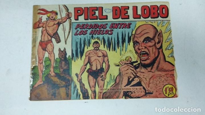 Tebeos: COLECCION COMPLETA 90 COMICS TBO PIEL DE LOBO ED MAGA AÑOS 50s ORIGINALES - Foto 10 - 173087324