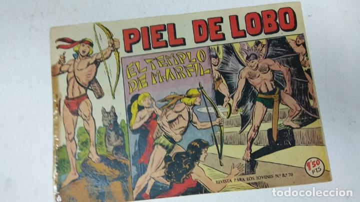 Tebeos: COLECCION COMPLETA 90 COMICS TBO PIEL DE LOBO ED MAGA AÑOS 50s ORIGINALES - Foto 11 - 173087324