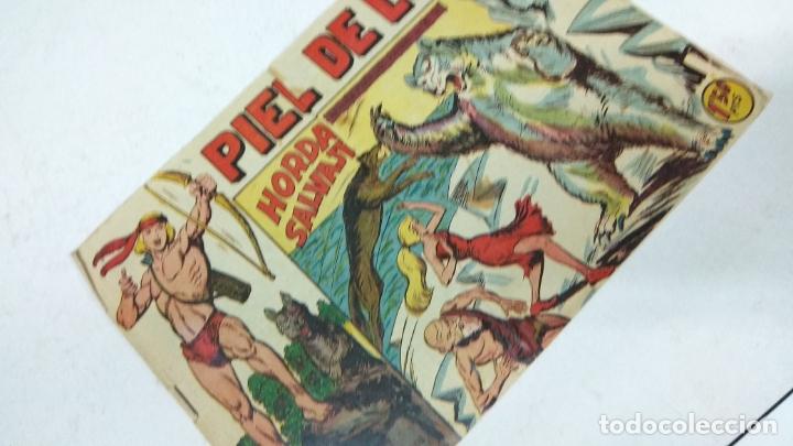 Tebeos: COLECCION COMPLETA 90 COMICS TBO PIEL DE LOBO ED MAGA AÑOS 50s ORIGINALES - Foto 12 - 173087324