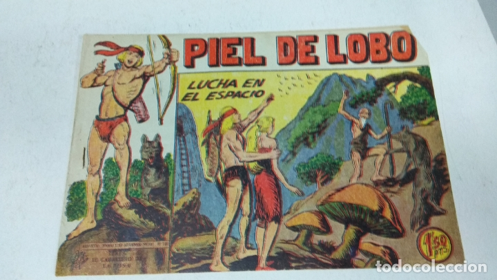 Tebeos: COLECCION COMPLETA 90 COMICS TBO PIEL DE LOBO ED MAGA AÑOS 50s ORIGINALES - Foto 14 - 173087324