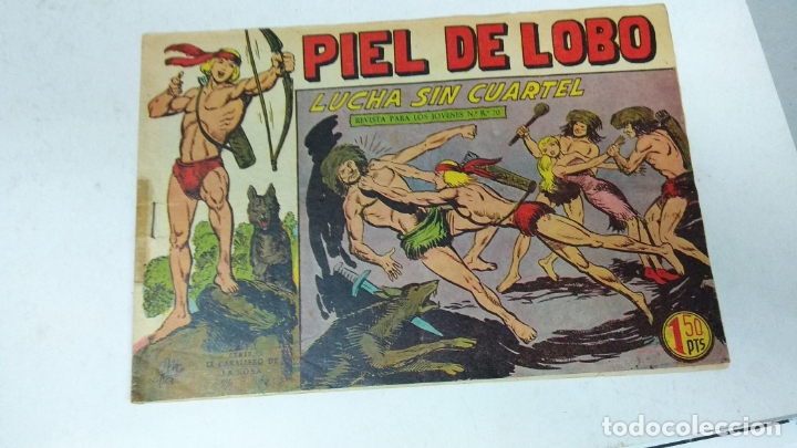 Tebeos: COLECCION COMPLETA 90 COMICS TBO PIEL DE LOBO ED MAGA AÑOS 50s ORIGINALES - Foto 15 - 173087324