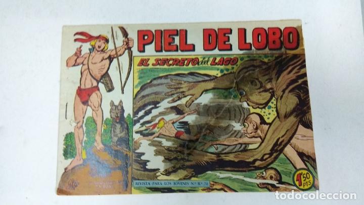 Tebeos: COLECCION COMPLETA 90 COMICS TBO PIEL DE LOBO ED MAGA AÑOS 50s ORIGINALES - Foto 16 - 173087324