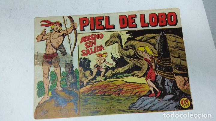 Tebeos: COLECCION COMPLETA 90 COMICS TBO PIEL DE LOBO ED MAGA AÑOS 50s ORIGINALES - Foto 17 - 173087324