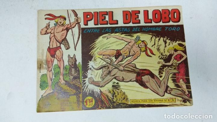 Tebeos: COLECCION COMPLETA 90 COMICS TBO PIEL DE LOBO ED MAGA AÑOS 50s ORIGINALES - Foto 18 - 173087324