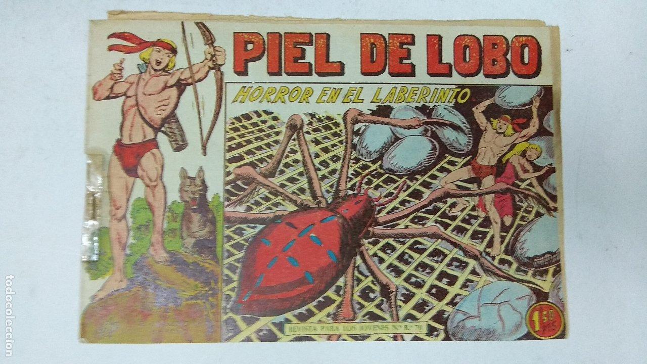 Tebeos: COLECCION COMPLETA 90 COMICS TBO PIEL DE LOBO ED MAGA AÑOS 50s ORIGINALES - Foto 19 - 173087324
