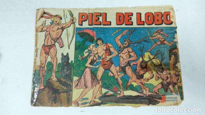 Tebeos: COLECCION COMPLETA 90 COMICS TBO PIEL DE LOBO ED MAGA AÑOS 50s ORIGINALES - Foto 21 - 173087324