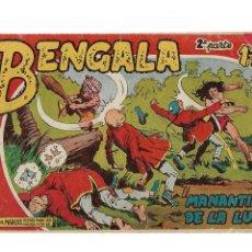 Tebeos: BENGALA 2ª PARTE Nº 1 ES ORIGINAL DEL AÑO 1960 DIBUJADO POR L. ORTIZ EDITORIAL MAGA.. Lote 173434084