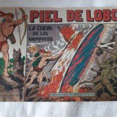 Tebeos: PIEL DE LOBO NÚMERO 27 EDITORIAL MAGA 1959. Lote 173580192