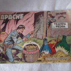 Tebeos: APACHE SEGUNDA PARTE JUNGLA TRAMPA DE PIEDRA NÚMERO 40 EDITORIAL MAGA. Lote 173585814