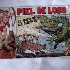 Tebeos: PIEL DE LOBO EL RAYO DE LA MUERTE NÚMERO 42 EDITORIAL MAGA 1959. Lote 173595700