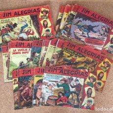 Tebeos: LOTE 49 NUMEROS JIM ALEGRIAS (ENTRE EL 1 Y EL 63, VER INTERIOR DEL ANUNCIO) - MAGA, ORIGINAL - GCH. Lote 173631158